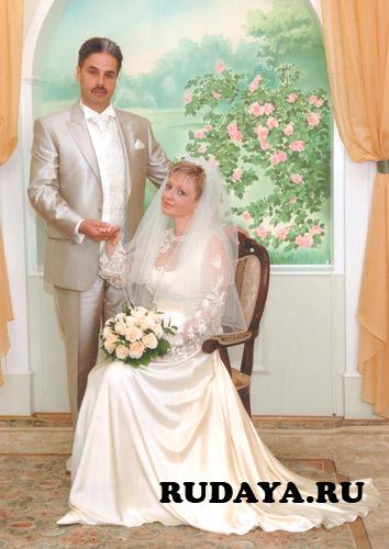 Свадебное платье малага визави