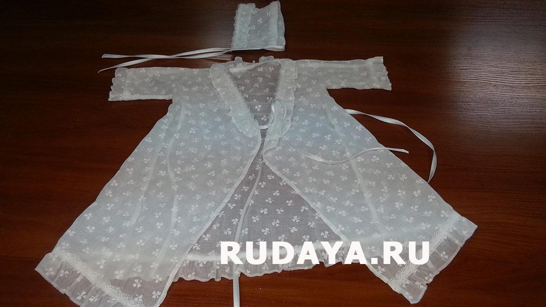 Крестильное платье для девочки сшить 13