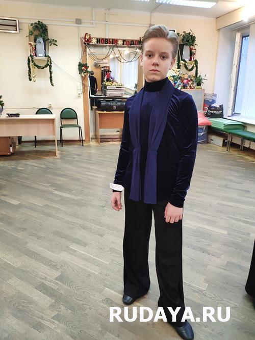 Мужская рубашка для бального танца на заказ