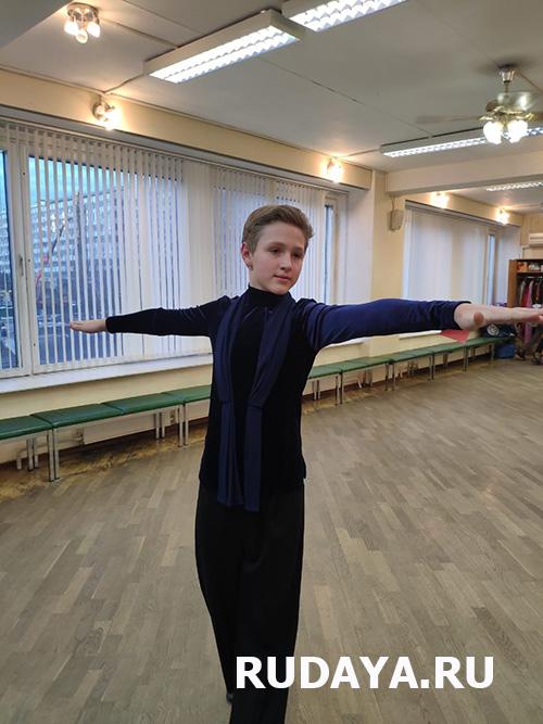 Пошив рубашки для спортивного бального танца для мальчика